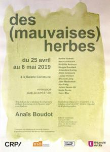 Des Mauvaises Herbes